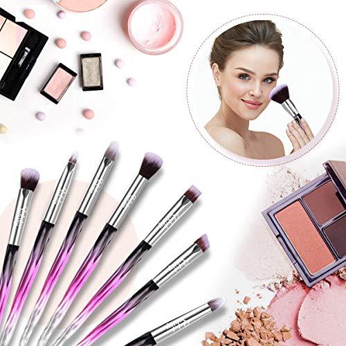 Set de brochas de maquillaje profesional Subsky 15 piezas Pinceles de maquillaje Set Premium Synthetic Foundation Brush Blending Face Powder Blush Concealers Kit de pinceles