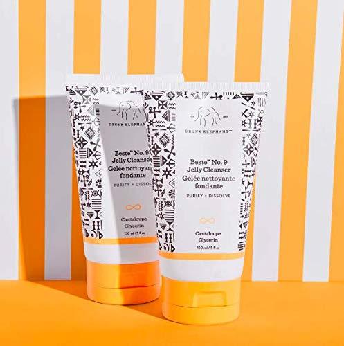 Drunk Elephant - Beste No. 9 - Gel limpiador - Limpiador facial suave y desmaquillante para todos los tipos de piel (150 ml)