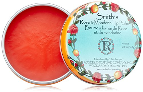 Rosebud Perfume Co. Smith Bálsamo Labial - Rosa & Mandarina 0.8oz (24ml)