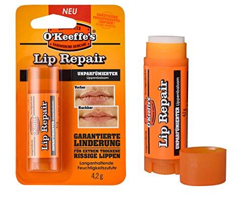O'Keeffe's Lip Repair - Bálsamo labial sin perfume