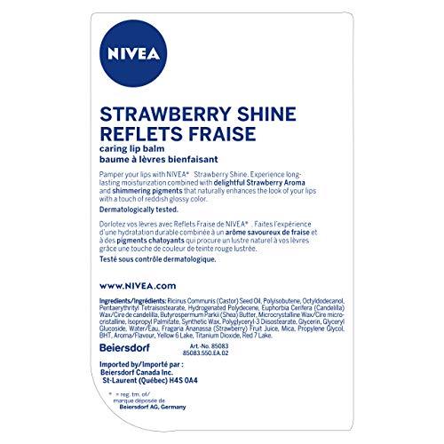 Nivea Nivea Bálsamo labial - Fruity Shine Fresa - Pack de 1