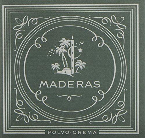 Maderas - Polvo para fijar y matizar el maquilaje, 15 g, 1 unidad