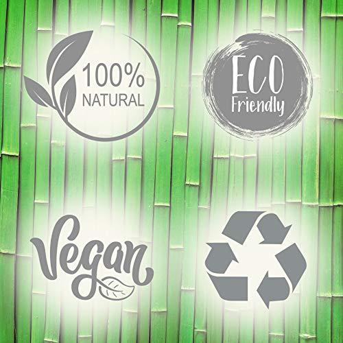 Toallitas Desmaquillantes de Bambú, Pack de 2 - NYK1 Paño Exfoliante Desmaquillante Facial, Desma-quillante Ojos Lavable – Paños/Discos Desmaquillantes Reutilizables Ecológicos – Piel Sensible