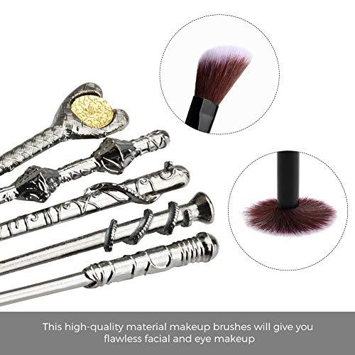 WeChipWeChip Potter Wizard Wand - Juego de brochas de maquillaje para mujer, B, 0.1[set de ]