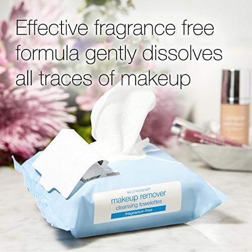 Neutrogena Pulizia Profumo Trucco libero Remover Salviette per il viso, 25 Conte, 2 confezioni