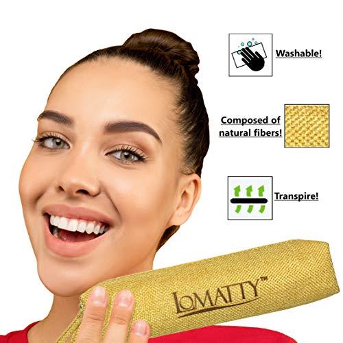 LOMATTY Italy Premium Set 4 Pcs, Esponjas Maquillaje, Brocha De Maquillaje Profesional, Pochette MakeUp, Beauty Esponja Blender Para Fundación BB Cream, Líquido Y Polvos