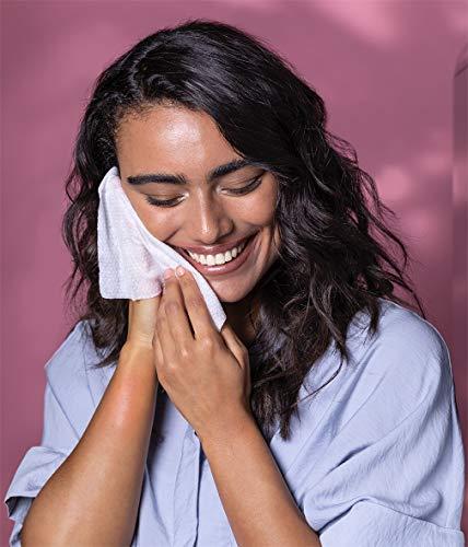 Nivea Toallitas limpiadoras micelares 3 en 1, suaves y desmaquillantes que proporcionan humedad y protección, edición limitada, 1 paquete (1 x 25 unidades)