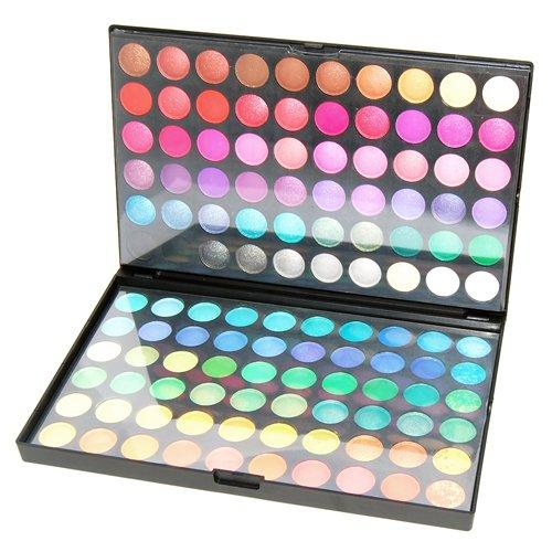 Accessotech 120 Colores Paleta De Sombras De Ojo Kit Maquillaje Set Maquillaje Profesional Caja