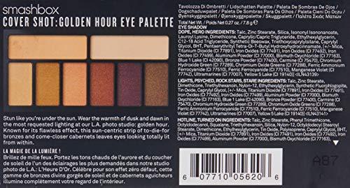 Smashbox Colección Paleta De Maquillaje Para Ojos De Portada – Hora Dorada 0.27 oz