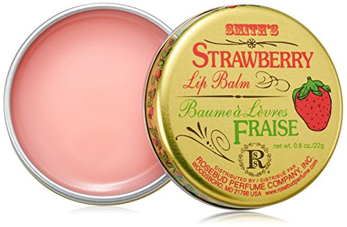 Rosebud Perfume Co. Smith Bálsamo Labial - Rosa Mentolada 0.8oz (24ml)