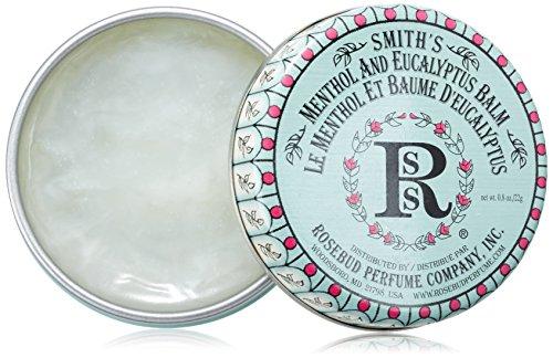Rosebud Perfume Co. Smith Bálsamo Labial - Mentolados Salve 0.8oz (24ml)