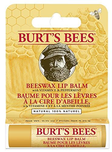 Burts Bees Bálsamo labial de cera de abejas, paquetes de 4,25 g