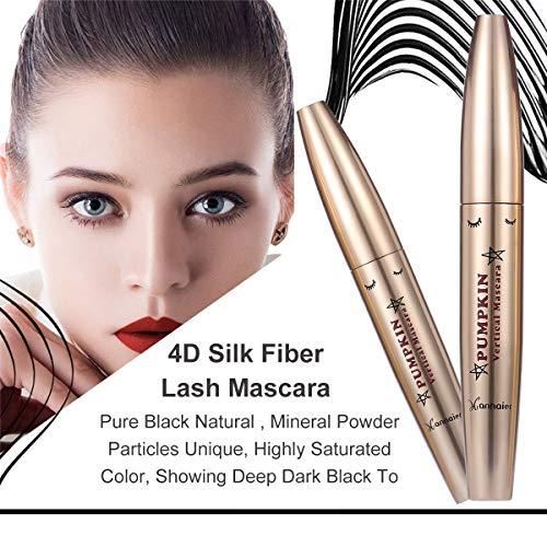 4D Silk Fiber Eyelash Mascara, 4D Mascara, 4d Silk Fiber Mascara, 4D Máscara de Pestañas de Fibra de Seda, Larga duración, sin arrugas, sin manchas, más larga, más gruesa