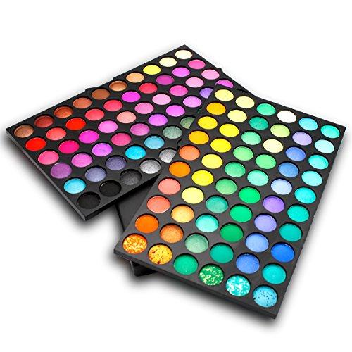 DISINO Paleta de Sombra de Ojos Colección Vivo Brillante Kit de Maquillaje Caja Profesional para Maquillaje Accesorio cosmético de Belleza (Paleta de Sombra de Ojos de 120 Colores) – Dibujo 1