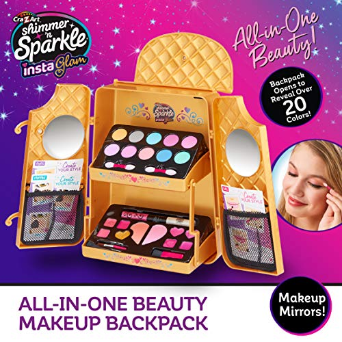 Shimmer and Sparkle-Instaglam Mochila de Maquillaje Todo en uno (Character Options LTD 07314)