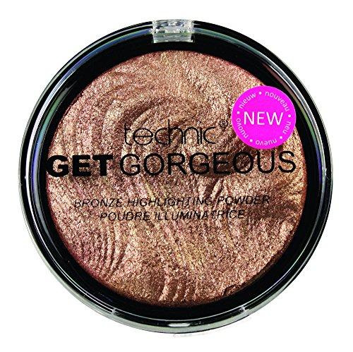Technic Get Gorgeous Bronze Resaltador en polvo para rostro bronceador, 12 g