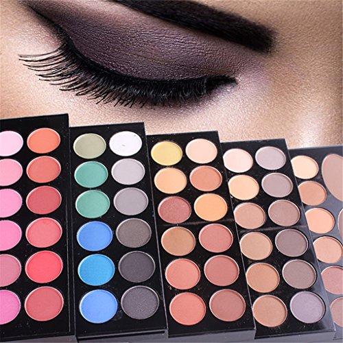 BrilliantDay 148 color paleta de sombra de ojos Blush Corrector Kit Belleza maquillaje Set