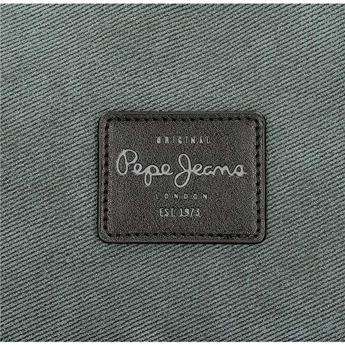 Neceser Pepe Jeans Cargo Adaptable, Gris, Media