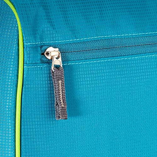 Deuter Center II Wash Bag, Neceser de Viaje Unisex Adulto, Verde (Petrol/Kiwi), 19x25x44 Centimeters (B x H x T)